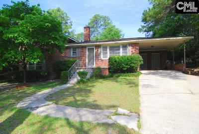 Forest Acres Single Family Home For Sale: 1706 Inglewood