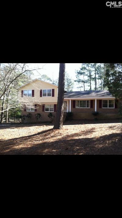 West Columbia Single Family Home For Sale: 1600 Blackbird