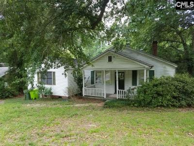 Columbia SC Single Family Home For Sale: $74,400