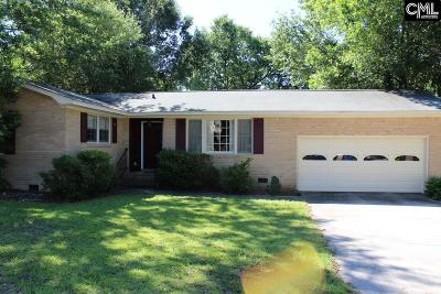 Single Family Home For Sale: 3412 Mineral Springs