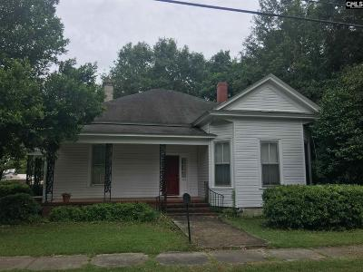 Bishopville Single Family Home For Sale: 222 N Heyward