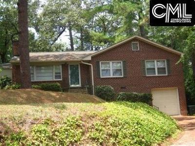Forest Acres Single Family Home For Sale: 3133 Chinaberry