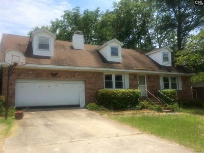West Columbia Single Family Home For Sale: 1950 Blue Ridge