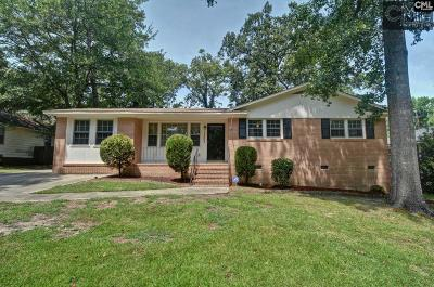 Columbia Single Family Home For Sale: 1503 Tall Pines