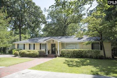 Forest Acres Single Family Home For Sale: 6008 Pine Valley