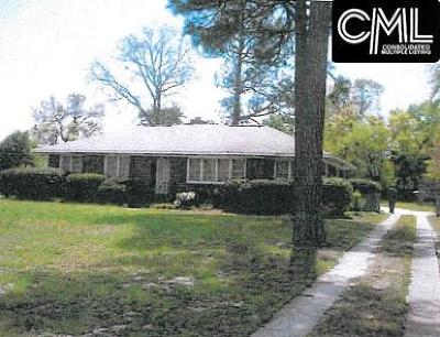 West Columbia Single Family Home For Sale: 3039 Leaphart
