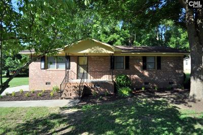 Newberry Single Family Home For Sale: 820 Drayton