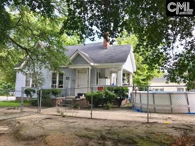 Columbia SC Single Family Home For Sale: $40,000
