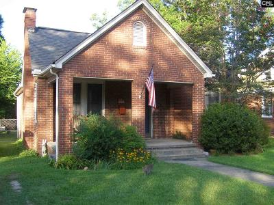 Cayce Single Family Home For Sale: 1717 State