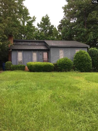 Columbia SC Single Family Home For Sale: $93,500