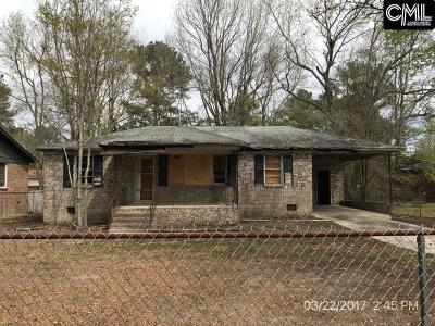 West Columbia Single Family Home For Sale: 239 Nikon