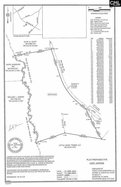 Monetta, Ridge Spring, Wagener, Johnston, Pelion, Newberry, Ward Residential Lots & Land For Sale: Old Shoals Road
