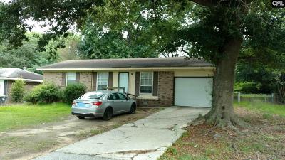 West Columbia Single Family Home For Sale: 1016 Kingsberry