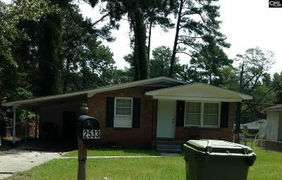 Cayce Single Family Home For Sale: 2533 Tiffany