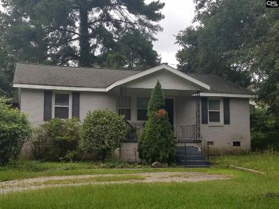 Cayce Single Family Home For Sale: 1005 Sunnyside
