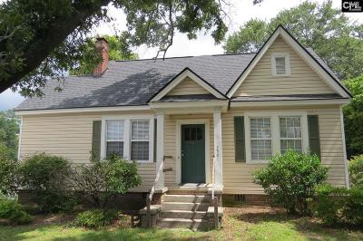 Forest Acres Single Family Home For Sale: 3501 Verner
