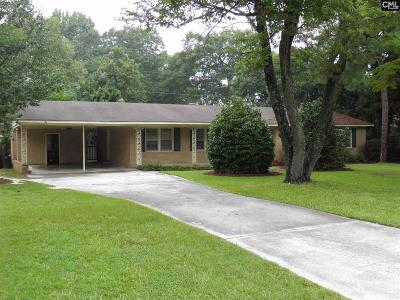 Forest Acres Single Family Home For Sale: 6711 Brookfield