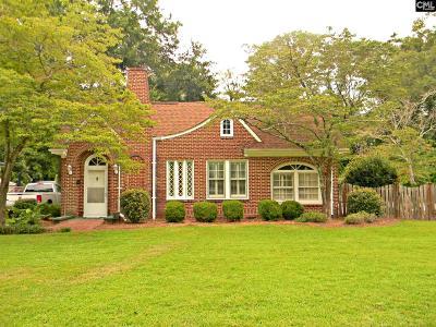 Batesburg Single Family Home For Sale: 110 N Peachtree