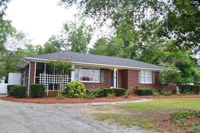 Batesburg Single Family Home For Sale: 238 Highland