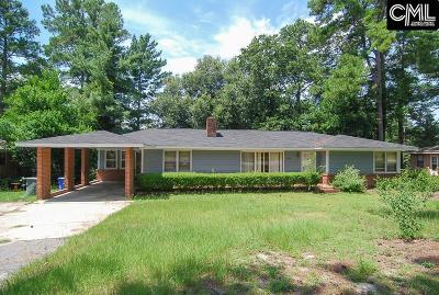Forest Acres Single Family Home For Sale: 2733 N Beltline