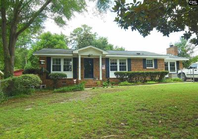 Columbia SC Single Family Home For Sale: $139,000