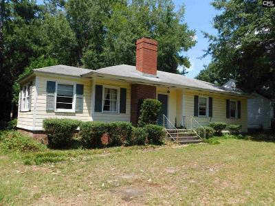 Camden Single Family Home For Sale: 1108 Laurens
