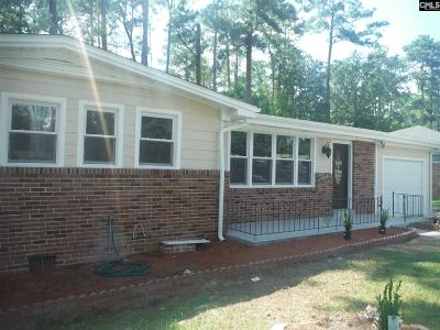 Columbia SC Single Family Home For Sale: $111,800
