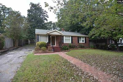 Columbia SC Single Family Home For Sale: $136,000