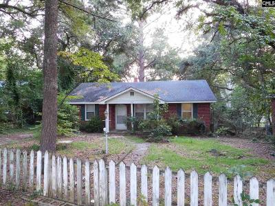 Columbia SC Single Family Home For Sale: $111,000
