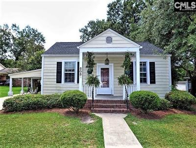Camden Single Family Home For Sale: 505 Carrison