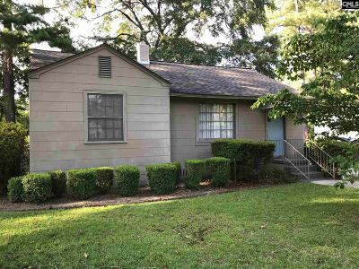 Columbia SC Single Family Home For Sale: $81,500