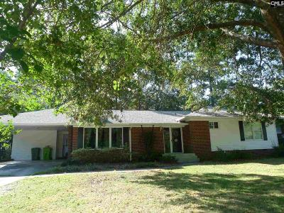 Forest Acres Single Family Home For Sale: 4726 Norwood