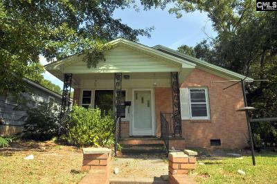 Newberry Single Family Home For Sale: 822 Taylor