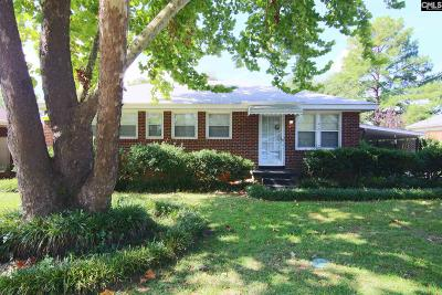 Columbia SC Single Family Home For Sale: $100,000