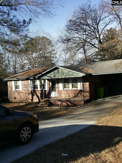 Columbia Single Family Home For Sale: 624 Bitternut