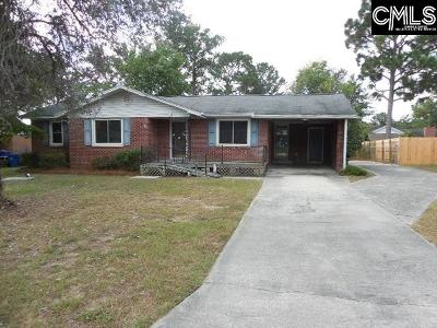 West Columbia Single Family Home For Sale: 3111 Sierra