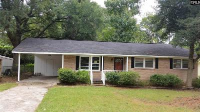 Cayce Single Family Home For Sale: 2527 Stonehenge