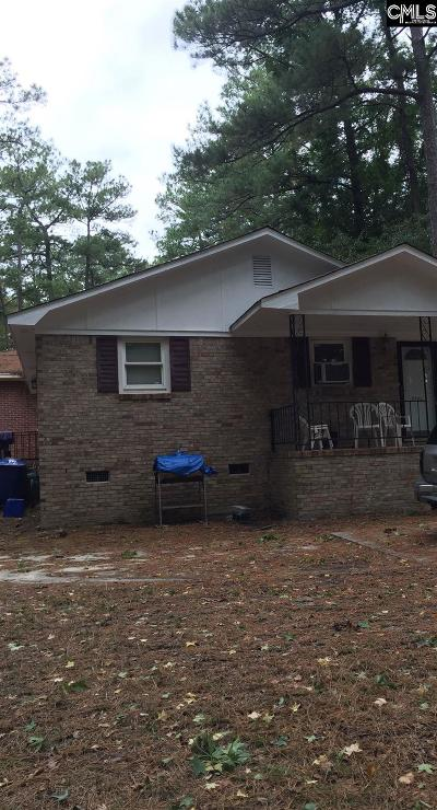 Columbia SC Single Family Home For Sale: $59,900