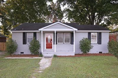 Cayce Single Family Home For Sale: 1509 Dunbar