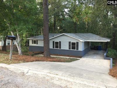 West Columbia Single Family Home For Sale: 3168 Buckeye