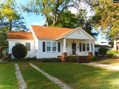 Batesburg Single Family Home For Sale: 539 W Railroad
