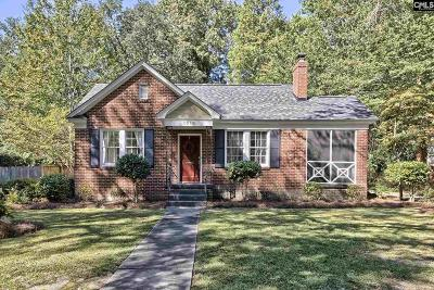 Columbia Single Family Home For Sale: 1215 Daly