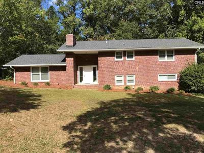 Batesburg Single Family Home For Sale: 543 Kendall