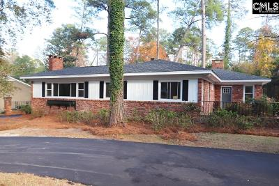 Forest Acres Single Family Home For Sale: 518 N Trenholm