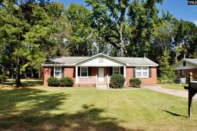Cayce Single Family Home For Sale: 518 Brookcliff