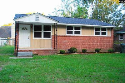 West Columbia Single Family Home For Sale: 1116 S Ott