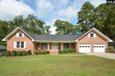West Columbia Single Family Home For Sale: 1644 Goldfinch