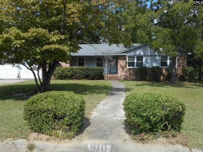 Lexington County, Richland County Single Family Home For Sale: 810 Rockwood