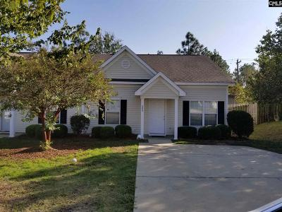 Columbia SC Single Family Home For Sale: $85,000