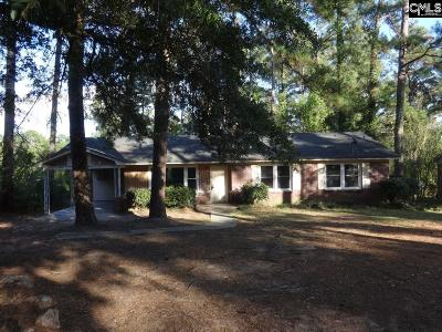 Lexington County, Richland County Single Family Home For Sale: 5860 Ellisor